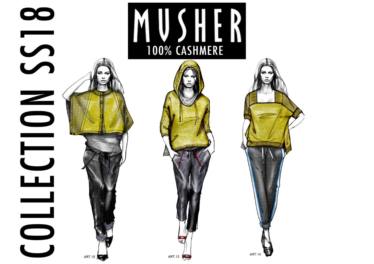 CASHMERE DONNA MUSHER